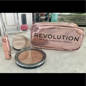 Makeup Bundle with Bronzer & Lipstick